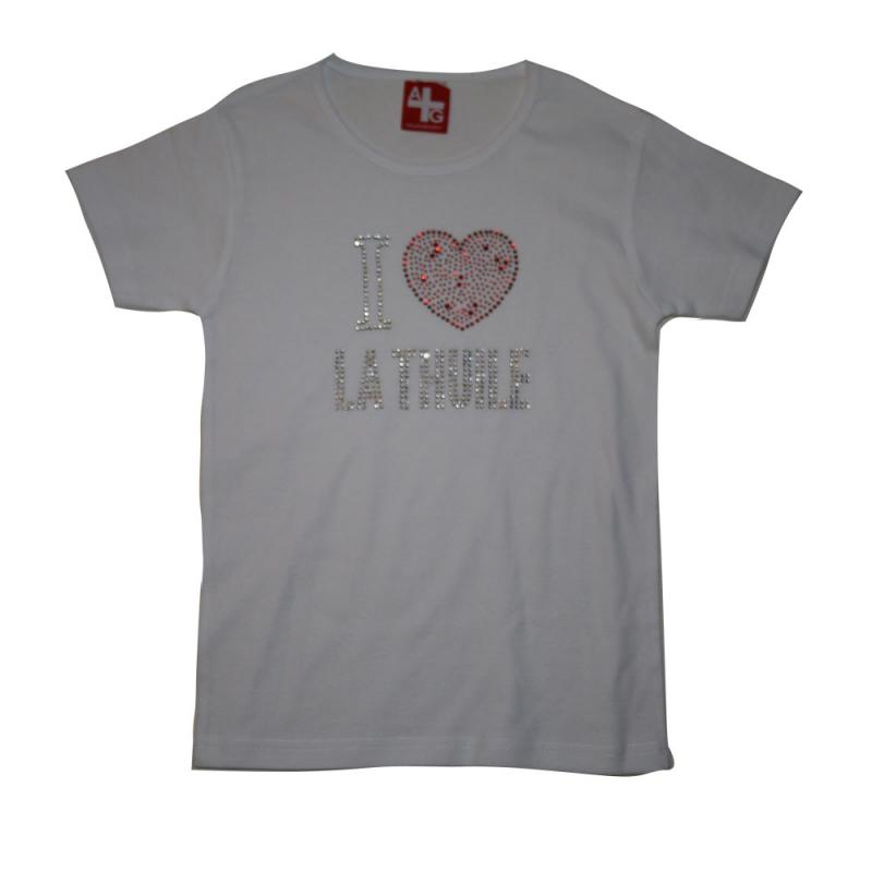T-shirt La Thuile White