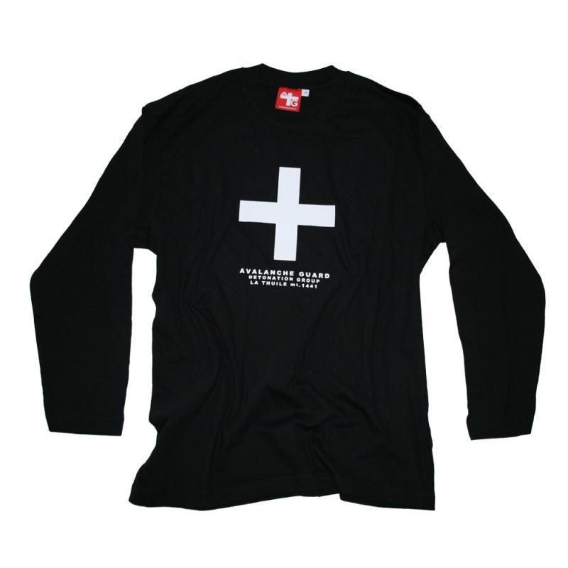 T-shirt Avalanche Black