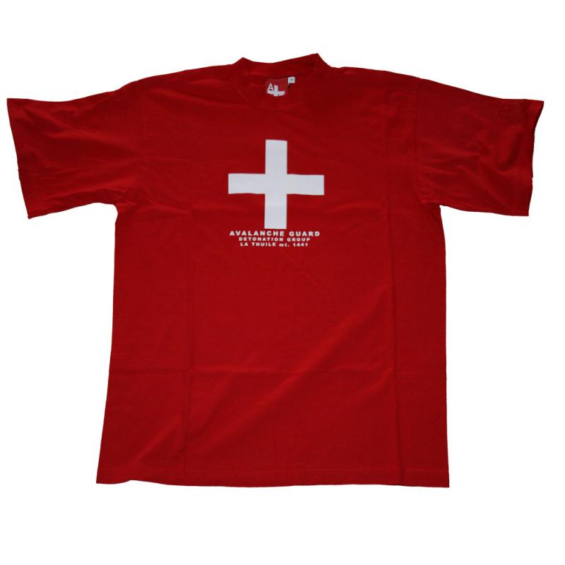 T-shirt Avalanche Rosso