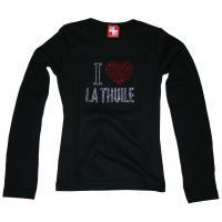 T-shirt La Thuile black